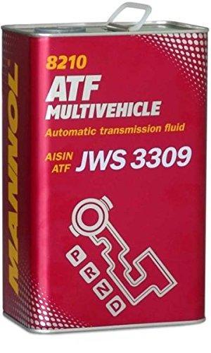 MN8210-4ME MANNOL ATF MULTIVEHICLE Capacity: 4l, AISIN WARNER JWS3309, ALLISON C-4, JASO M315 Type 1A, JATCO ATF Automatic Transmission Oil MN8210-4ME cheap