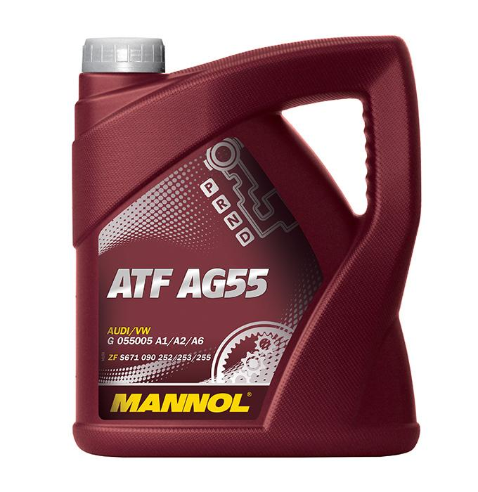 Automatic Transmission Oil MANNOL MN8212-4 Reviews