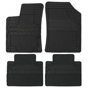AH005C POLGUM Universelle passform Gummi, vorne und hinten, Menge: 4, schwarz Größe: 45x50, Größe: 75.5x54.5 Autofußmatten AH005C günstig kaufen