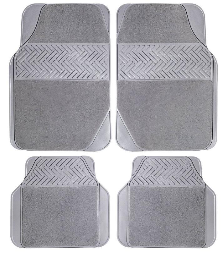 TS2008PC POLGUM Universelle passform Gummi mit Gewebeeinlage, vorne und hinten, Menge: 4, schwarz Größe: 68x45, Größe: 40х35 Autofußmatten TS2008PC günstig kaufen