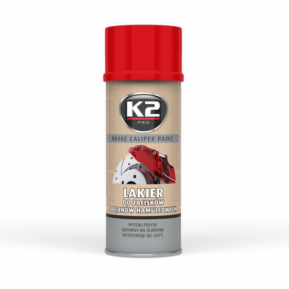 L346CE K2 Sprühdose, Inhalt: 400ml, rot Bremssattellack L346CE günstig kaufen