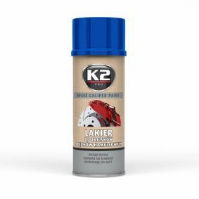 L346NI K2 Sprühdose, Inhalt: 400ml, blau Bremssattellack L346NI günstig kaufen