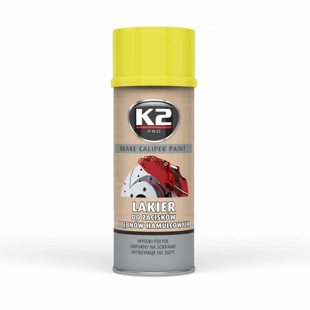 L346ZO K2 Sprühdose, Inhalt: 400ml, gelb Bremssattellack L346ZO günstig kaufen