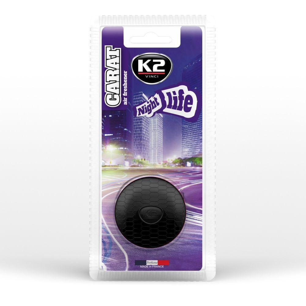 Pirkti V520 K2 NIGHT LIFE pakuotė, turinys: 2.7ml Auto kvapas V520 nebrangu