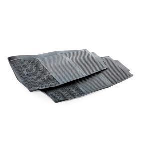 310C POLGUM Voor, Zwart, Rubber, Aantal: 2 Grootte: 71.5x47 Vloermatset 310C