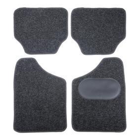 9900-2 POLGUM fram och bak, svart, Textil, Antal: 4 Storlek: 69.5x44.5, Storlek: 40x44.5 Set med golvmatta 9900-2 köp lågt pris