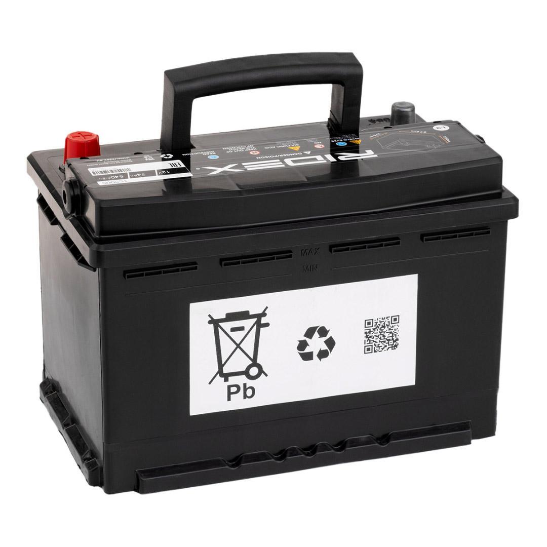 1S0005 Starterbatterie RIDEX Test