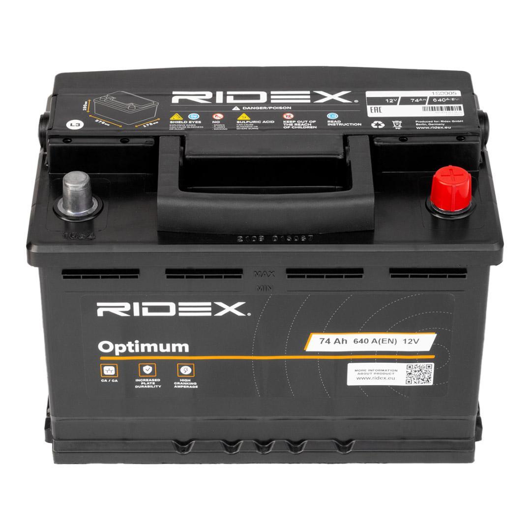 Starterbatterie 1S0005 von RIDEX