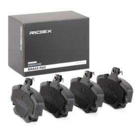 402B1282 Bremsbelagsatz, Scheibenbremse RIDEX 402B1282 - Große Auswahl - stark reduziert