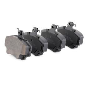402B1282 Bremsbelagsatz RIDEX - Markenprodukte billig