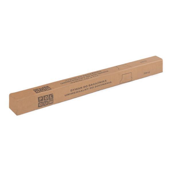 1015C POLGUM Rubber, Grootte: 115/141x111 Kofferbakmat 1015C