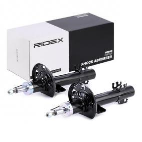 Achat de 854S1640 RIDEX Pression de gaz, Système bitube, Jambe de suspension Amortisseur 854S1640 pas chères