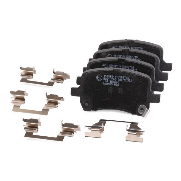 402B1286 Bremsbeläge RIDEX 402B1286 - Große Auswahl - stark reduziert
