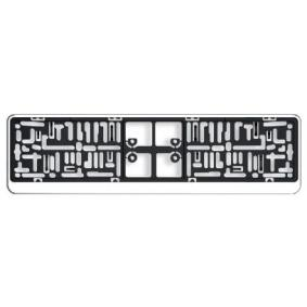 DACARCHROM Licence plate holders ARGO DACAR CHROM - Huge selection — heavily reduced