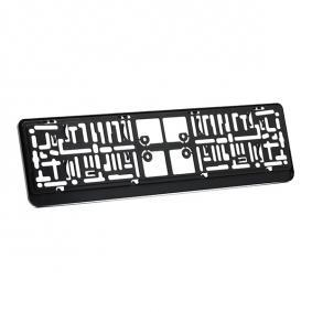 DACAR CHROM Porte plaques d'immatriculation ARGO - Produits de marque bon marché