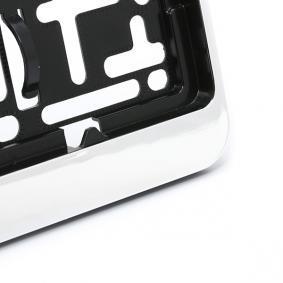 """DACAR CHROM Porte plaques d'immatriculation ARGO - L""""expérience à prix réduits"""