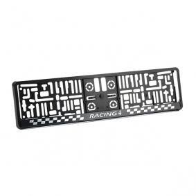 MONTE CARLO 3D ARGO negro Soportes para matricula MONTE CARLO 3D a buen precio