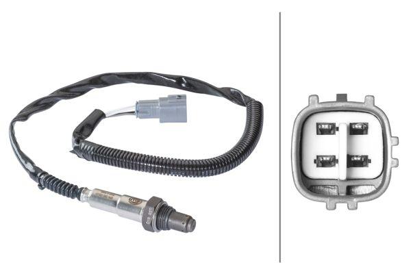 Lambda sensor 6PA 358 103-011 HELLA — only new parts