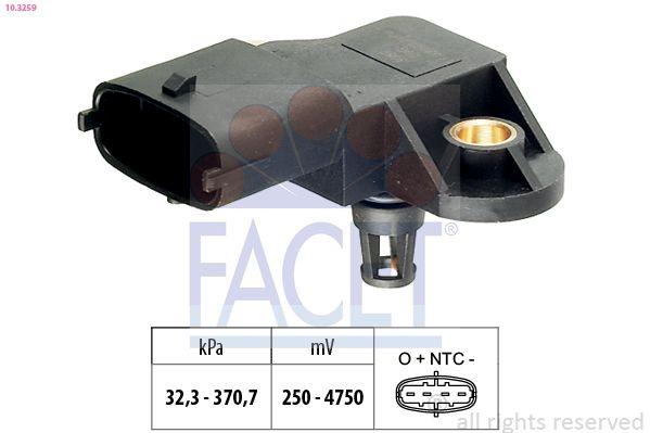 Original MERCEDES-BENZ Ladedrucksensor 10.3259