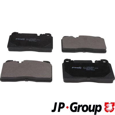 Bremsbelagsatz, Scheibenbremse JP GROUP 1163613810 Bewertungen