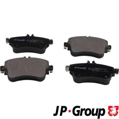 Bremsbelagsatz JP GROUP 1363607110