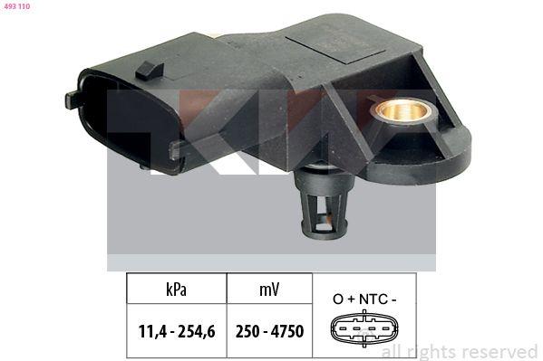 Original MERCEDES-BENZ Sensor Saugrohrdruck 493 110