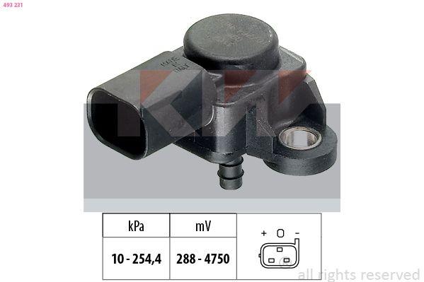 Ladedrucksensor KW 493 231