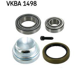 Jogo de rolamentos de roda VKBA 1498 MERCEDES-BENZ três volumes com um desconto - compre agora!