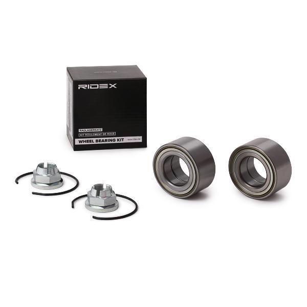 RIDEX 654W1047 (Ø: 65mm, Diamètre intérieur: 35mm) : Roulements Twingo c06 2010