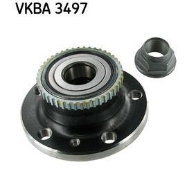 Kit de roulement de roue VKBA 3497 RENAULT AVANTIME à prix réduit — achetez maintenant!