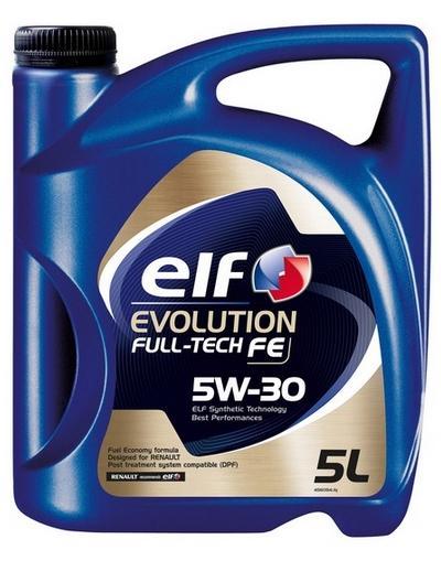 Achat de 2195305 ELF Evolution, Full-Tech FE 5W-30, 5I, Huile synthétique Huile moteur 2195305 pas chères