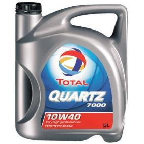 2202845 TOTAL Quartz, 7000 10W-40, 5l, Teilsynthetiköl Motoröl 2202845 günstig kaufen