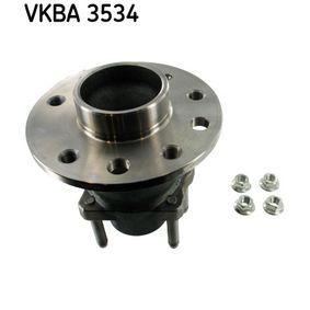 Juego de cojinete de rueda VKBA 3534 SAAB 9-5 a un precio bajo, ¡comprar ahora!