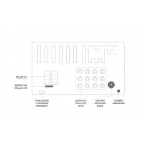 HT869BT Multimedia-Empfänger VORDON HT-869BT - Stark reduziert