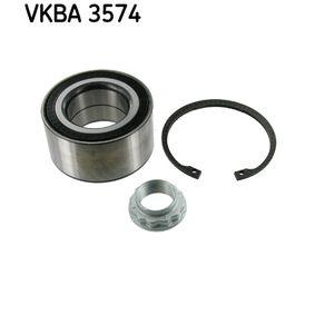 VKBA3574 Rato guolio komplektas SKF - Sumažintų kainų patirtis