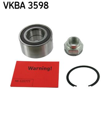 Комплект колесен лагер VKBA 3598 от SKF