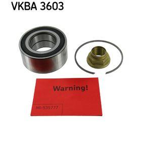 комплект колесен лагер VKBA 3603 за ROVER 75 на ниска цена — купете сега!