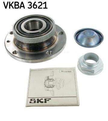 Купете VKBA 3621 SKF с датчик-пръстен за ABS Комплект колесен лагер VKBA 3621 евтино