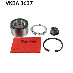 Kit cuscinetto ruota VKBA 3637 RENAULT CLIO IV — ricevi il tuo sconto ora!
