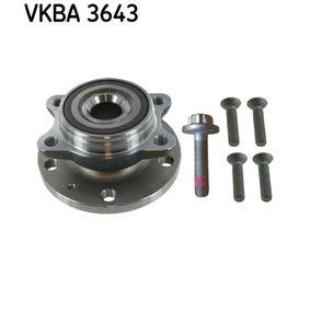 VKBA3643 Rato guolio komplektas SKF VKBA 3643 Platus pasirinkimas — didelės nuolaidos