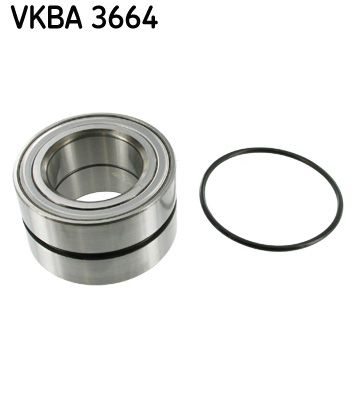 SKF: Original Radnabe VKBA 3664 (Ø: 84mm, Innendurchmesser: 49mm)