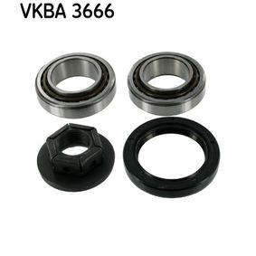 VKBA3666 Hjullagersats SKF - Upplev rabatterade priser