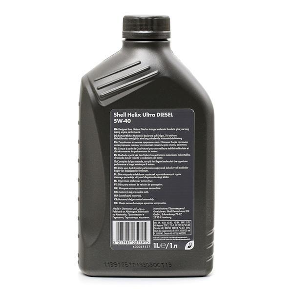 550040551 Motoröl SHELL 550040551 - Große Auswahl - stark reduziert