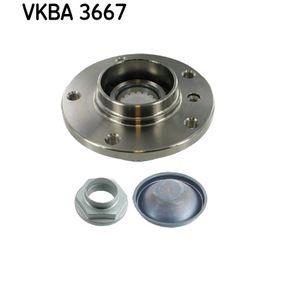 VKBA 3667 SKF med ABS-sensorring Hjullagerssats VKBA 3667 köp lågt pris