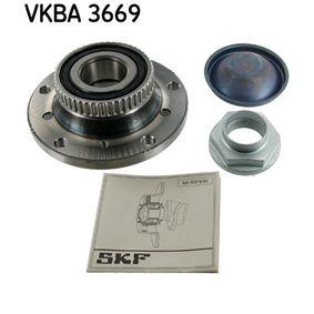 VKBA 3669 SKF med ABS-sensorring Hjullagerssats VKBA 3669 köp lågt pris