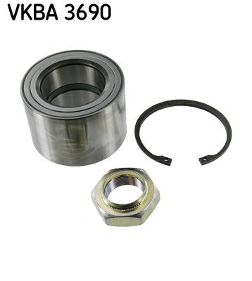 SKF Комплект колесен лагер VKBA 3690