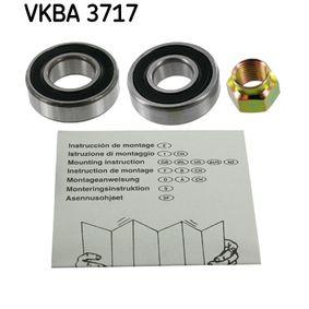 Set rulment roata SKF VKBA 3717 cumpărați și înlocuiți