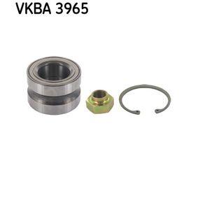 VKBA 3965 SKF Ø: 62mm, Innerdiameter: 35mm Hjullagerssats VKBA 3965 köp lågt pris