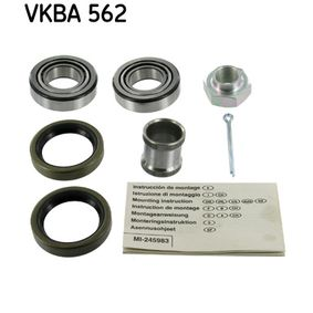 Wiellagerset VKBA 562 FIAT 600 met een korting — koop nu!