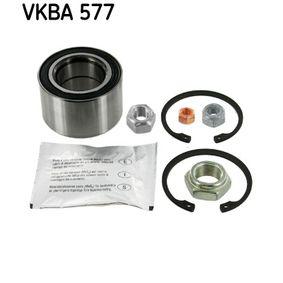 Riteņa rumbas gultņa komplekts VKBA 577 par VW DERBY ar atlaidi — pērc tagad!